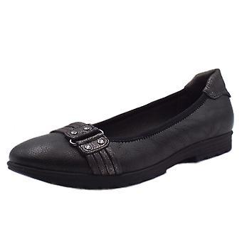 Soft Line 22101 Bantam Modern Wide Fit Ballet Pump In Black