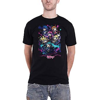 Hatsune Miku T Shirt Kawaii Gang Logo new Official Mens Black