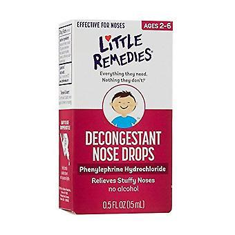 Liten nese decongestant nese faller, mild 1/8% formel, 0,5 oz