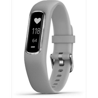 Garmin - Activity Tracker - Vivosmart 4 light grey-silver S-M - 010-01995-02