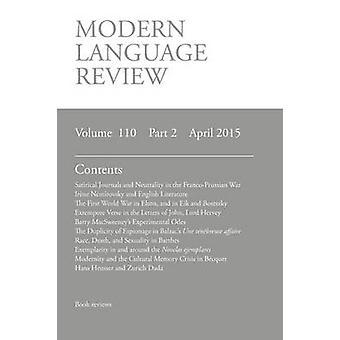 Modern Language Review 1102 April 2015 by Connon & D. F.