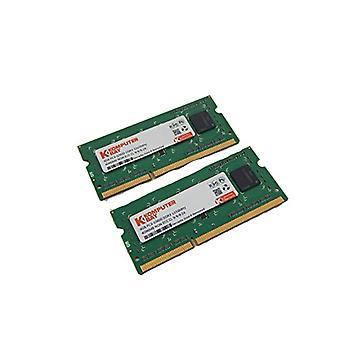 Komputerbay 8GB (2x 4GB) DDR3 SODIMM (204 pins) 1333Mhz PC3 10600 8 GB Laptop
