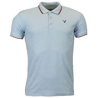 Mens American Eagle Getipt Polo Shirt
