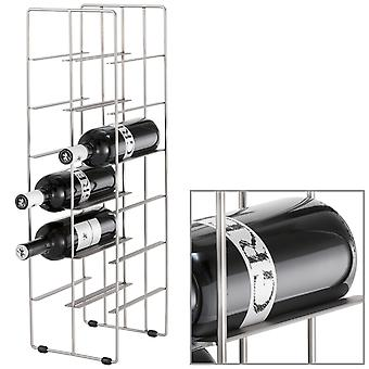Blomus wine rack PILARE, steel plated