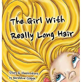 The Girl with Really Long Hair by Csapek & Geraldine