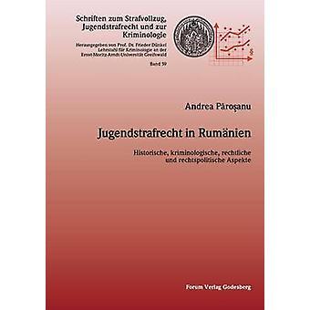 Jugendstrafrecht in RumnienHistorische kriminologische rechtliche und politische Aspekte by Dnkel & Frieder