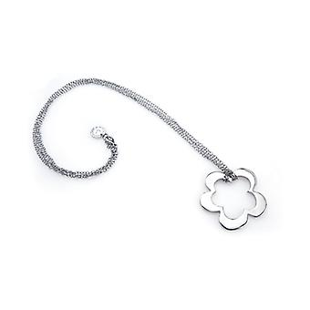 Dámske náhrdelník s kvetinovým príveskom Agatha Ruiz De La Prada (6 - 51,5 cm) 147102/Silver