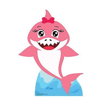 طفل القرش الوردي قطع الورق المقوى / Standee / Standup