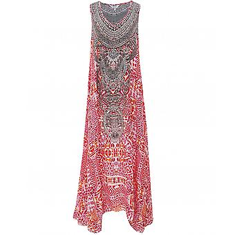 Inoa Shiraz Silk Maxi Dress