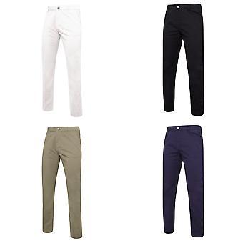 Asquith y Fox para hombre Slim Fit algodón pantalones Chino