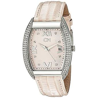 Carlo Monti CM508-168-wristwatch, leather, color: pink