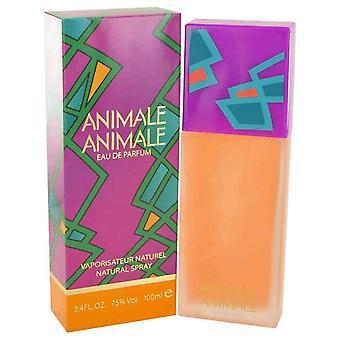 Animale Animale Eau De Parfum Spray por Animale 3.4 oz Eau De Parfum Spray