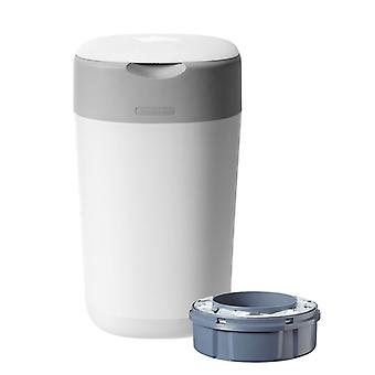 Tommee Tippee Twist et Click Nappy Disposal Tub Blanc