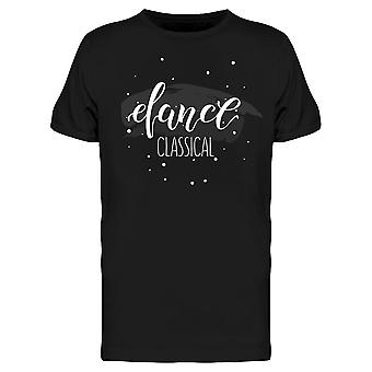 Starry Dance Classical Tee Men's -Image by Shutterstock
