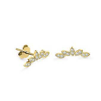 Korvakorut Stud Amour 18K kulta ja timantit