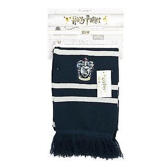 Harry Potter Hogwarts Ravenclaw House Crest Knitted Scarf