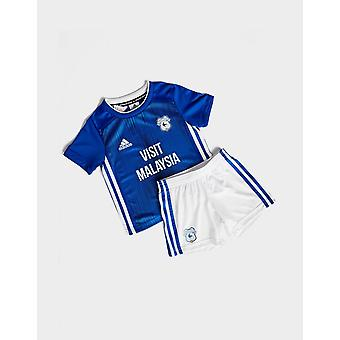 Nieuwe adidas Children Cardiff City FC 2019/20 Home Kit Blue