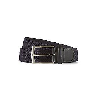 Braided belt john navy / black