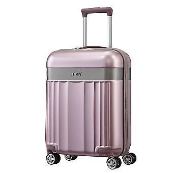 TITAN Spotlight Flash Handbagage Trolley S voor dames, 4 wielen, 55 cm, 37 L, Roze