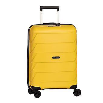 Fabrizio Worldpack Capri Handbagage Trolley S, 4 wielen, 54 cm, 32 L, Geel