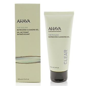 Ahava Time to Clear Refreshing Cleansing Gel 100ml/3.4oz