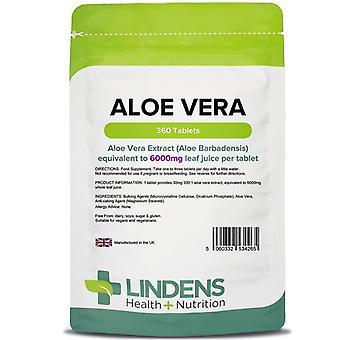 Lindens Aloe Vera 6000mg Tabletit 360 (4265)