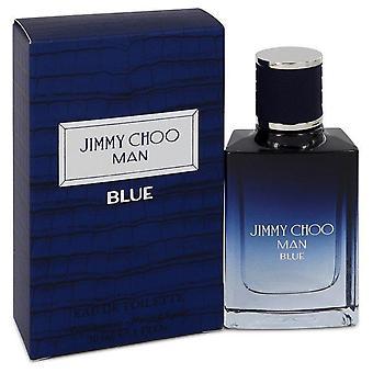 Jimmy choo man blue eau de toilette spray by jimmy choo 543390 30 ml