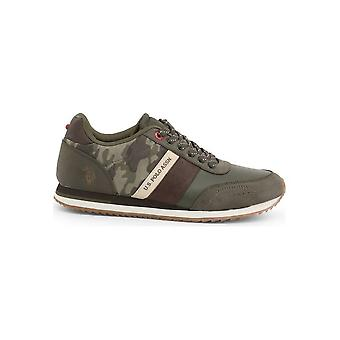 U.S. Polo Assn. - Chaussures - Baskets - XIRIO4133W8_YH2_MILG-BRW - Hommes - darkolivegreen - EU 41
