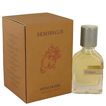 Seminalis Parfum Spray (Unisex) By Orto Parisi 1.7 oz Parfum Spray