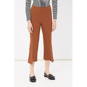 Brown Pants Please Woman