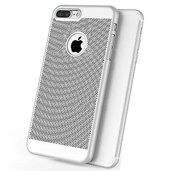 Luxusní Ultra Tenký Tenký PC Mesh hard back case cover apple iPhone 10 x 8 7 6s 5s