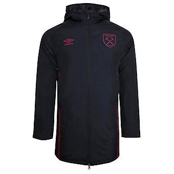 2020-2021 West Ham Padded Jacket (Black)