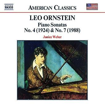 L. Ornstein - Orenstein: Piano Sonatas [CD] USA import