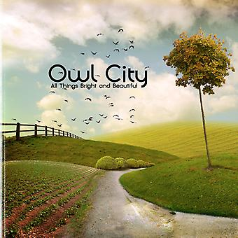 Owl City - All Things Bright & Beautiful [CD] USA import