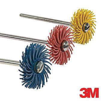 Disco radial de 19mm de 3M e discos mandril ou sobressalentes