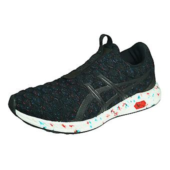 Asics Hyper Gel Kenzen Mens Running Trainers / Shoes - Black