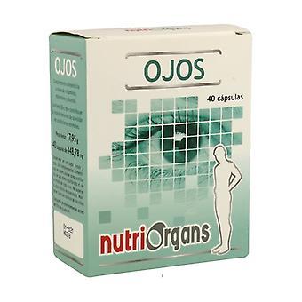 Nutriorgans Eyes 40 capsules