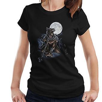 Alchemy lenket varulv kvinner ' s T-skjorte