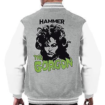 Hammer de Gorgon 1964 poster Men's Varsity jas