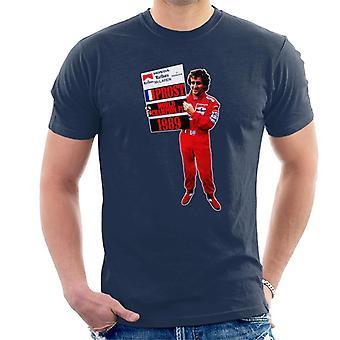 モータースポーツイメージアワンF1世界選手権1989メン&アポス;s Tシャツ