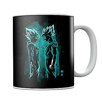 Dragonball Z Gogeta And Vegito Mug