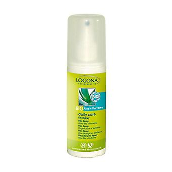 Deodorant Spray Aloe Bio Vervain Daily Care 100 ml