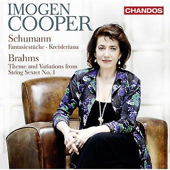 Schumann/Brahms - Schumann: Fantasiestücke; Kreisleriana; Brahms: Thème et Variations [CD] USA import
