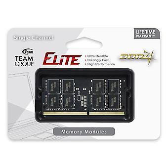 Team Elite SODIMM PC-19200 DDR4 2400MHz 1x8GB CL16 260Pin, 1.2V