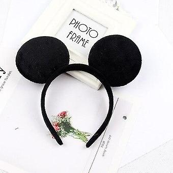 Cute Mickey Mouse Headband Pink Ear Headband - Bow Hair Accessories