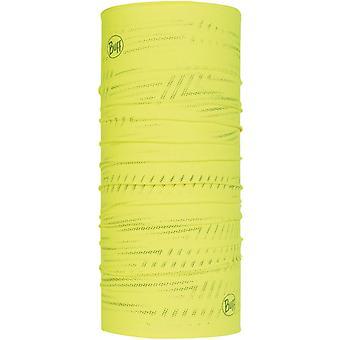 Buff Unisex reflexní CoolNet UV + Ochranné Venkovní Bandana Snood šátek žlutá