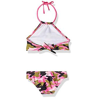 Kanu Surf Big Girls' Mahina Beach Sport Halter Bikini 2-Piece Swimsuit, Erin ...