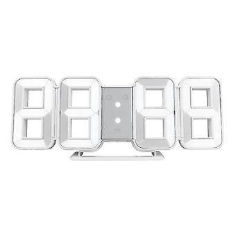 Fanju fj3208 led digital 3d 8-shape clock creative table alarm clock  wall clock time temperature display
