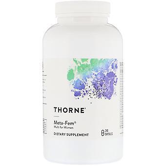 Thorne Research, Meta-Fem, Multi voor Vrouwen, 240 Capsules