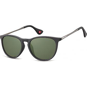 "Sunglasses Unisex Panto Cat.3 matt black (""s24a"")"